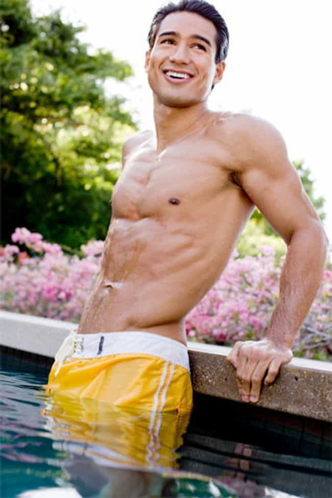 Mario Lopez in Soft Swim Short... is listed (or ranked) 4 on the list Hot Mario Lopez Photos