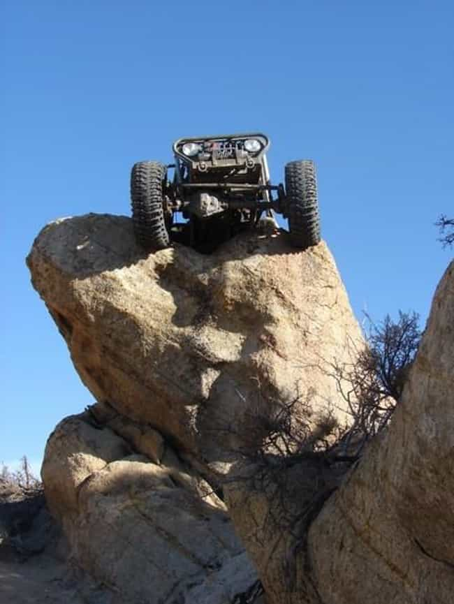 Jeep Drives Off Cliff Du... is listed (or ranked) 3 on the list The Top 10 Awful Stories from Ruined Bachelor Parties