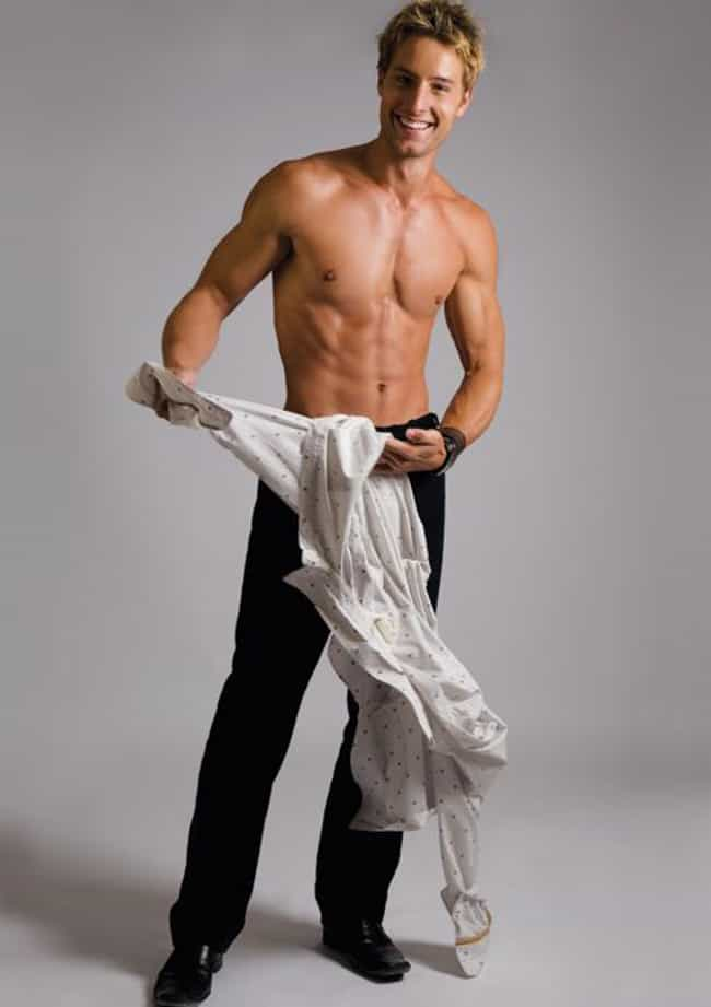 Justin Hartley in Shirtl... is listed (or ranked) 1 on the list Hot Justin Hartley Photos