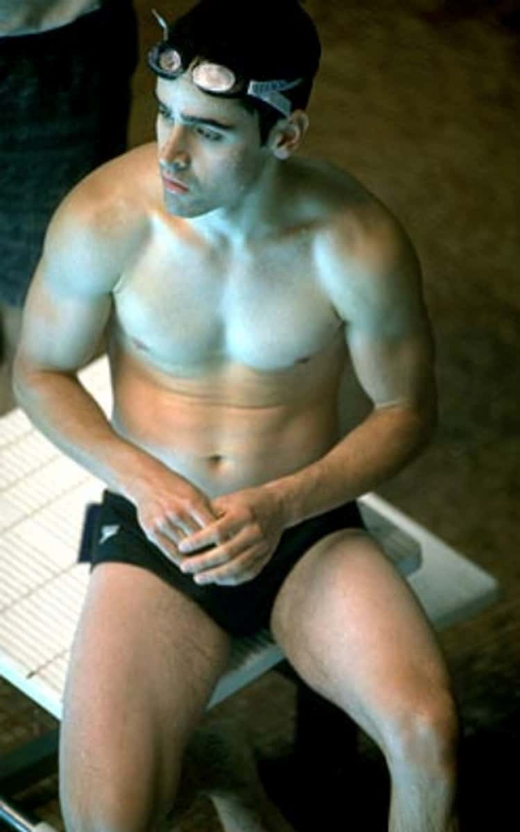 Jesse Bradford in Shirtless with Trunks