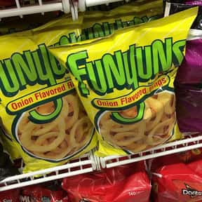 Funyuns is listed (or ranked) 4 on the list The World's Most Delicious Chips, Crisps & Crunchy Snacks