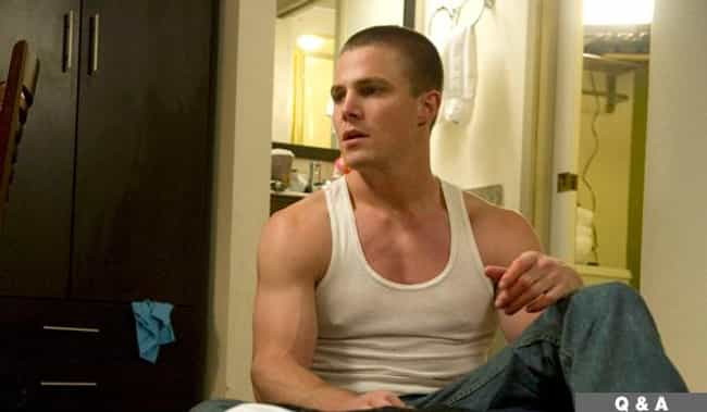 Stephen Amell in White Cotton ... is listed (or ranked) 2 on the list Hot Stephen Amell Photos