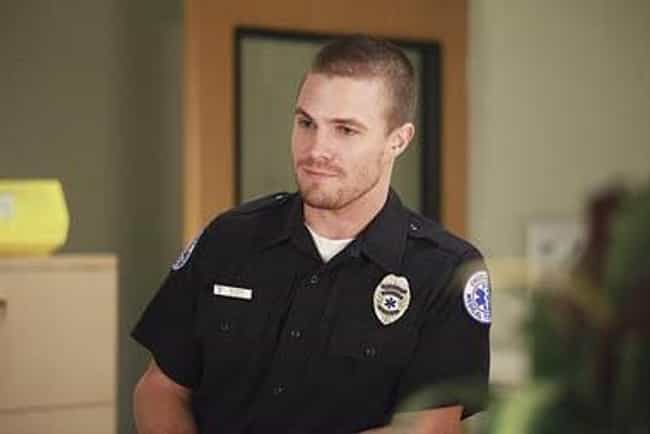 Stephen Amell in Black Police ... is listed (or ranked) 4 on the list Hot Stephen Amell Photos
