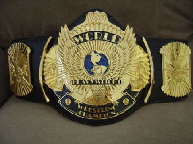 Winged Eagle WWE Champio... is listed (or ranked) 3 on the list The Coolest Championship Belts
