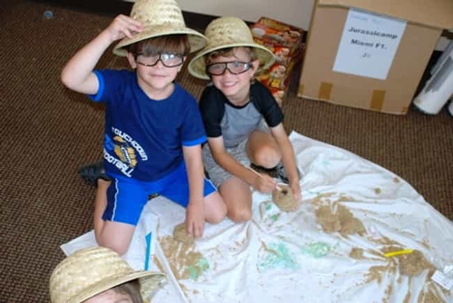 Dinosaur Camp is listed (or ranked) 3 on the list The Most Unconventional Summer Camps