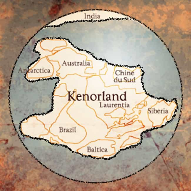 Kenorland is listed (or ranked) 3 on the list The Earth's Known SuperContinents