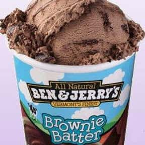 Brownie Batter is listed (or ranked) 13 on the list The Most Delicious Ice Cream Flavors