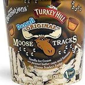 Moose Tracks is listed (or ranked) 22 on the list The Most Delicious Ice Cream Flavors