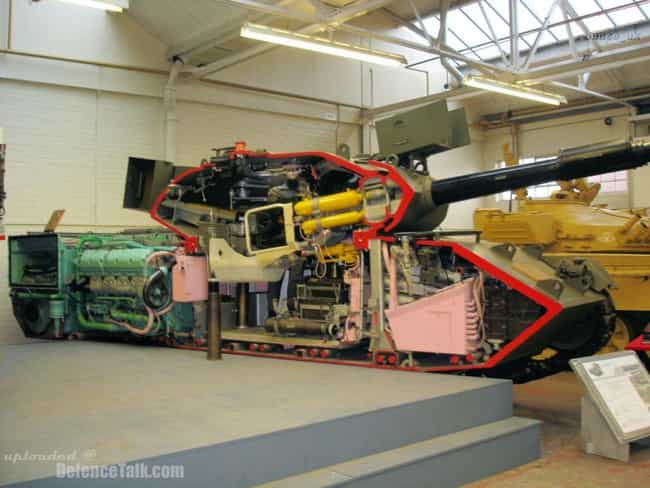Tank is listed (or ranked) 2 on the list 20 Amazing Photos of Everyday Things Cut in Half