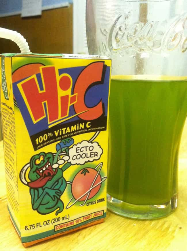 Hi-C Ecto Cooler Juice B... is listed (or ranked) 6 on the list The Greatest Discontinued '90s Foods And Beverages