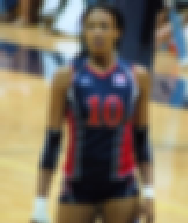 Kim Glass - Outside Hitter is listed (or ranked) 9 on the list London 2012 USA Women's Basketball & Volleyball