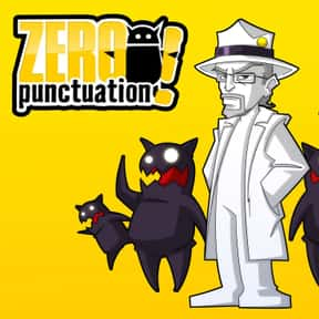 Zero Punctuation is listed (or ranked) 20 on the list The Best Web Series