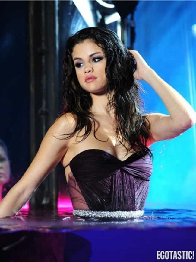 Selena Gomez Wet And Beautiful is listed (or ranked) 3 on the list The 20 Hottest Pictures of Selena Gomez
