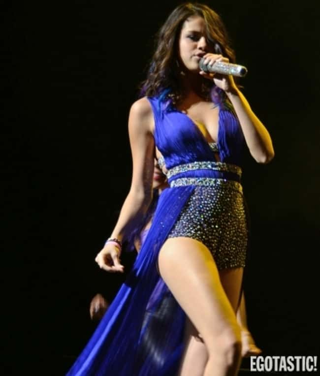 Selena Gomez Singing At Her Co is listed (or ranked) 7 on the list The 20 Hottest Pictures of Selena Gomez