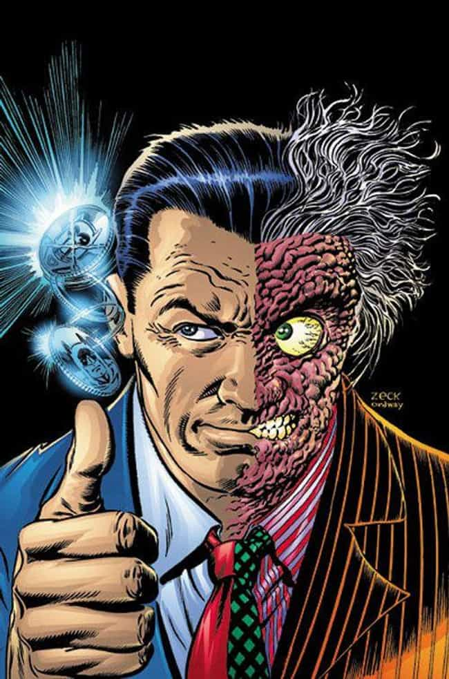 Batman Villain: Harvey '... is listed (or ranked) 3 on the list The Top 5 Real-Life Versions of Batman Villains