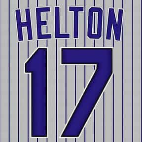 Todd Highway To Helton is listed (or ranked) 13 on the list The Best of Chris Berman's Nicknames