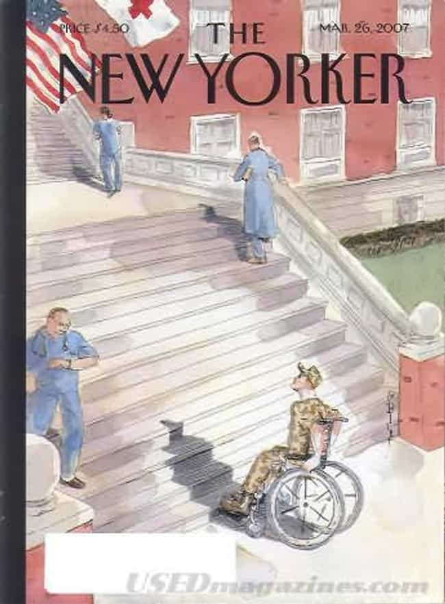The New Yorker - March 2... is listed (or ranked) 4 on the list The Best New Yorker Covers