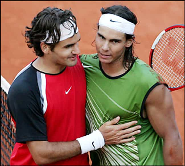 Roger Federer vs. Rafael Nadal is listed (or ranked) 1 on the list The Greatest Individual Rivalries in Sports History