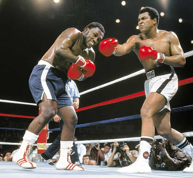 Muhammad Ali vs. Joe Frazier is listed (or ranked) 2 on the list The Greatest Individual Rivalries in Sports History