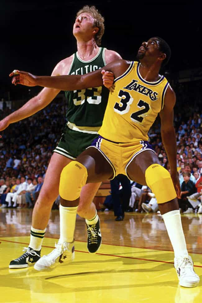 Magic Johnson vs. Larry Bird is listed (or ranked) 3 on the list The Greatest Individual Rivalries in Sports History
