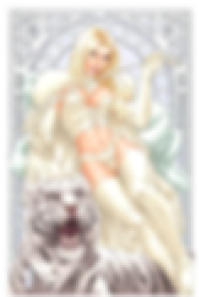 Emma Frost in White Original O... is listed (or ranked) 4 on the list Sexy Emma Frost Pictures