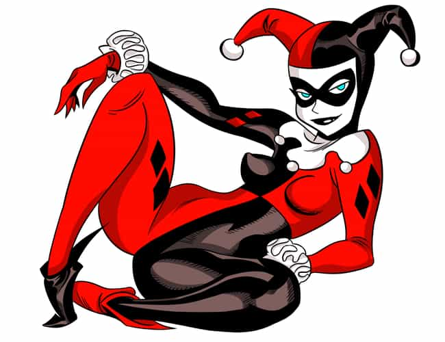Harley Quinn in Red and ... is listed (or ranked) 4 on the list The Most Stunning Harley Quinn Pictures