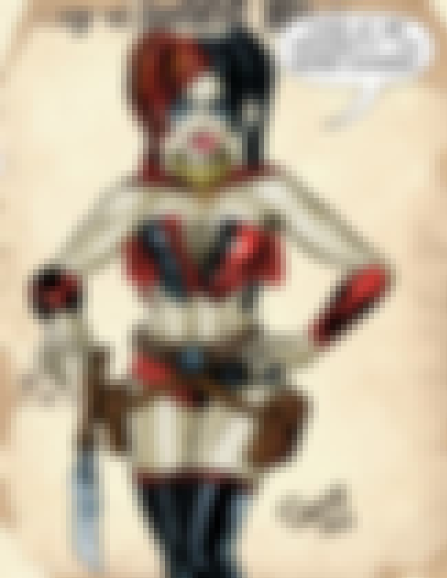 Harley Quinn in Leather Croppe... is listed (or ranked) 2 on the list Sexy Harley Quinn Pictures