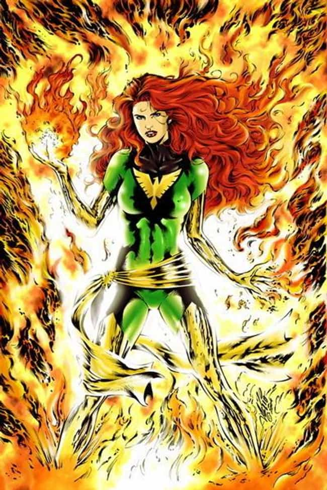Jean Grey in Dark Phoeni... is listed (or ranked) 4 on the list The Most Beautiful Jean Grey Pictures