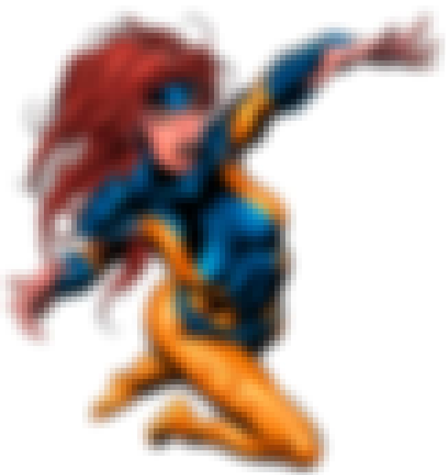 Jean Grey in Yellow and Blue L... is listed (or ranked) 3 on the list Sexy Jean Grey Pictures