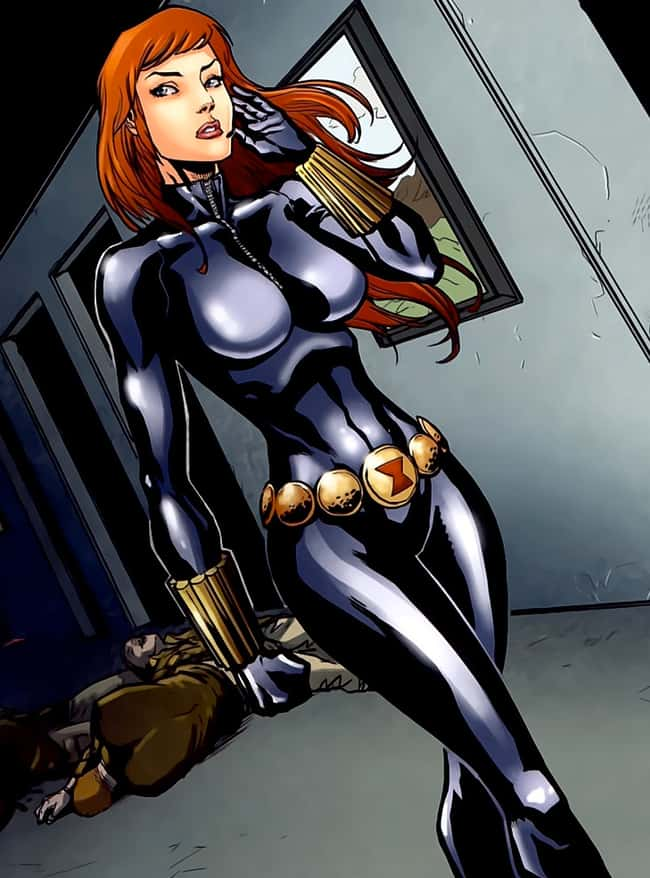 The Most Beautiful Black Widow Pictures