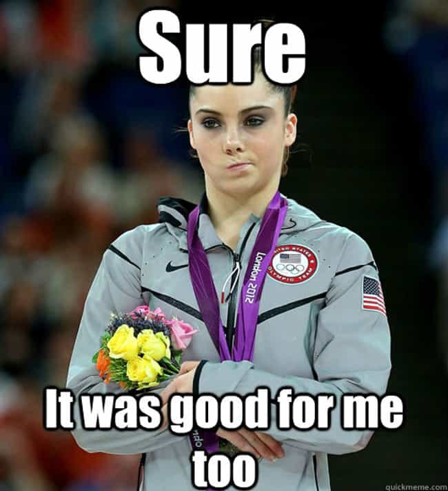 Sexual Satisfaction 2 is listed (or ranked) 2 on the list The Very Best of the McKayla Is Not Impressed Meme