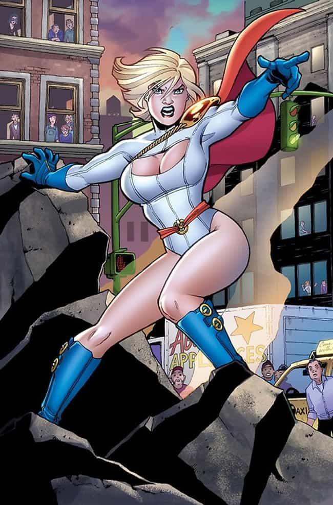 Power Girl in White Fitt... is listed (or ranked) 3 on the list The Most Stunning Power Girl Pictures