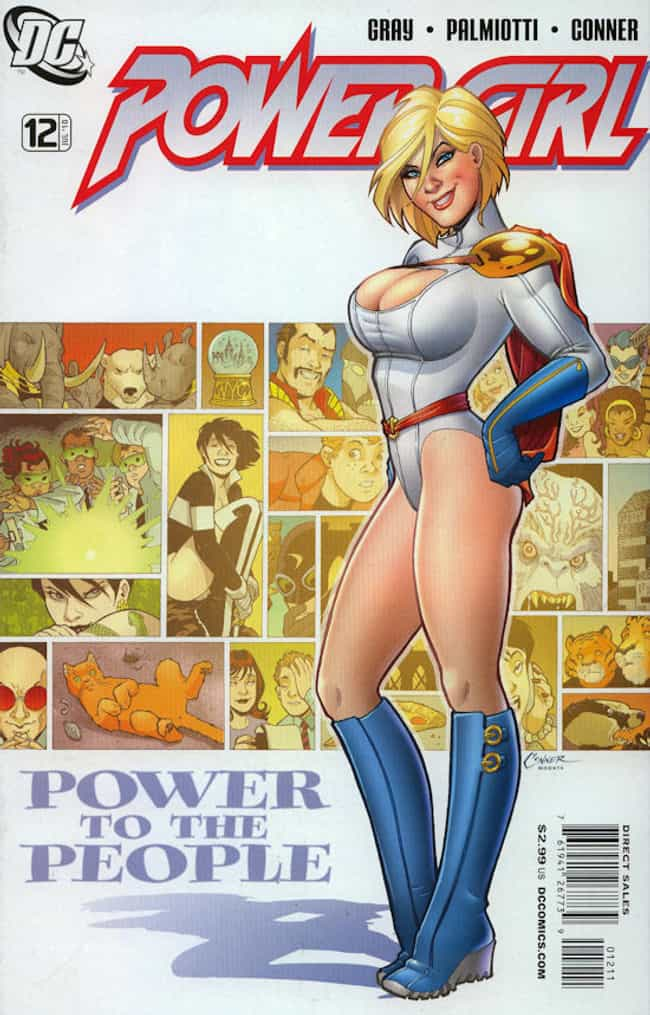 Power Girl in Classic Suit wit... is listed (or ranked) 3 on the list Sexy Power Girl Pictures