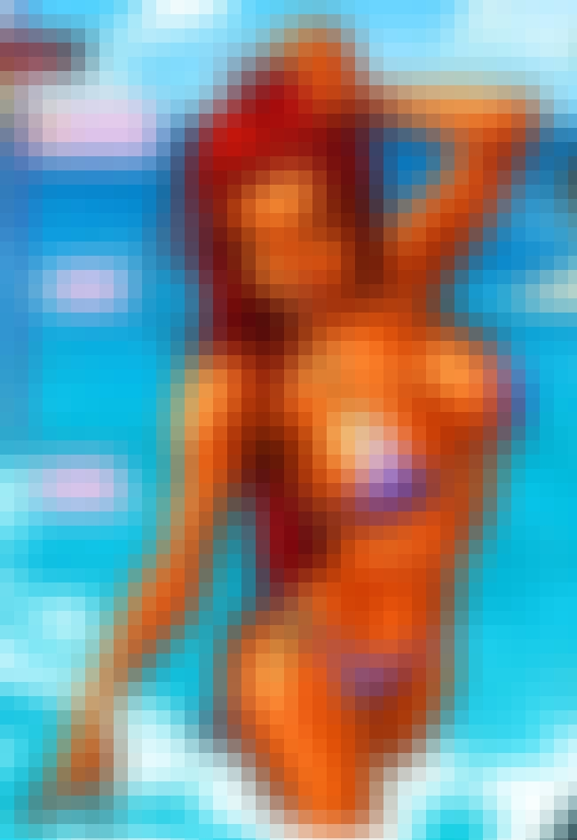 Starfire in Triangle Bikini is listed (or ranked) 1 on the list Sexy Starfire Pictures