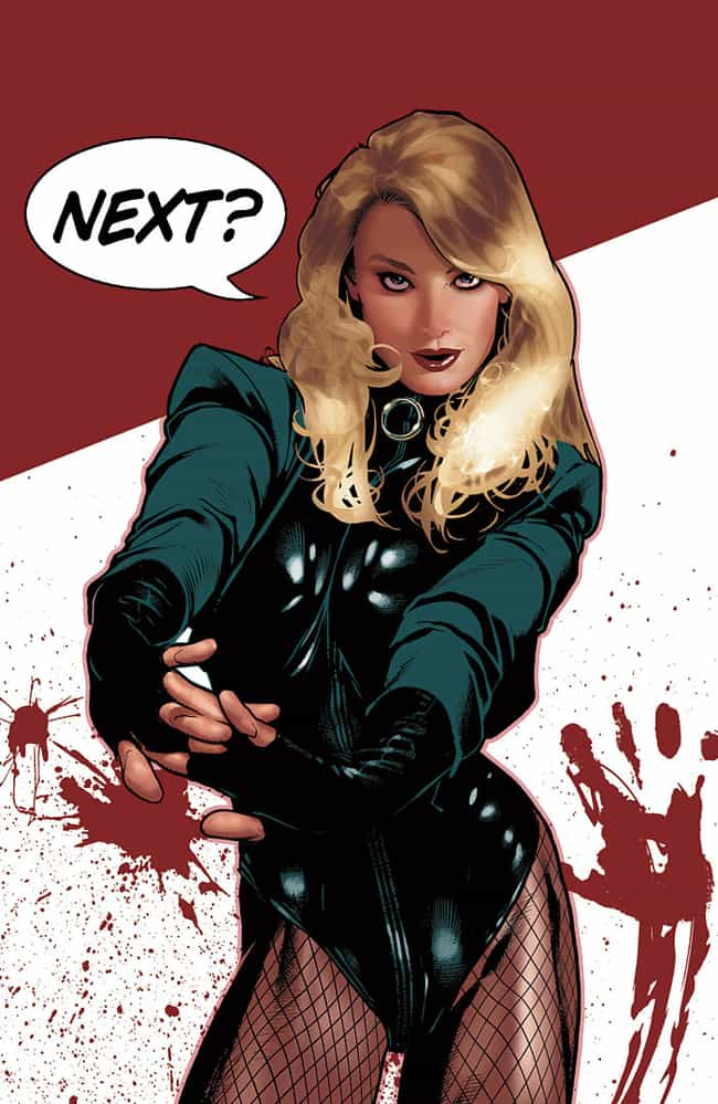 Black Canary in Leather ... is listed (or ranked) 5 on the list The Most Attractive Black Canary Pictures