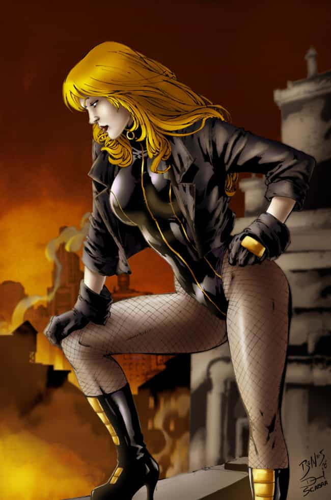 Black Canary in Black Su... is listed (or ranked) 3 on the list The Most Attractive Black Canary Pictures