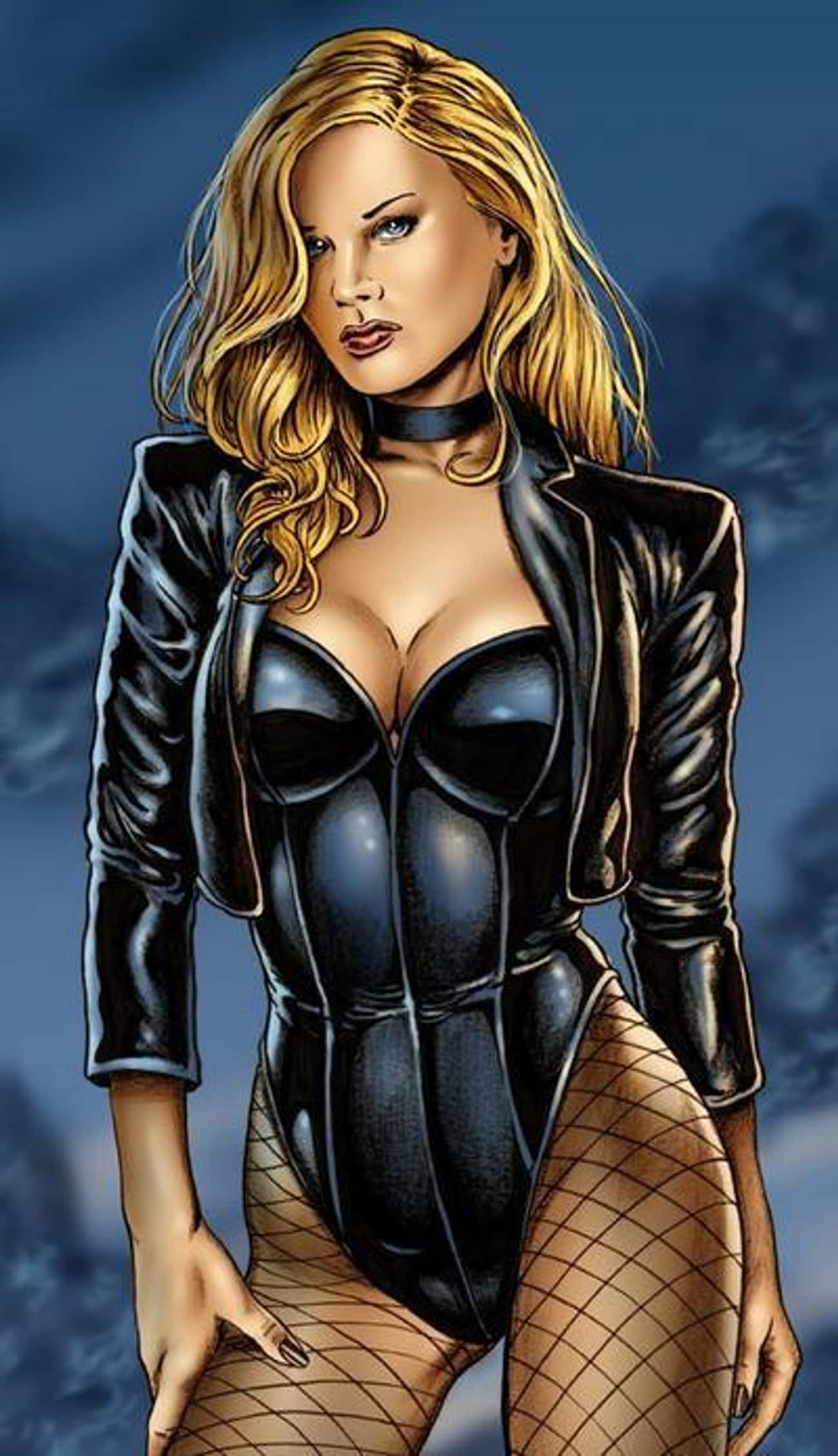Black Canary in Black Corset w is listed (or ranked) 1 on the list The Most Attractive Black Canary Pictures