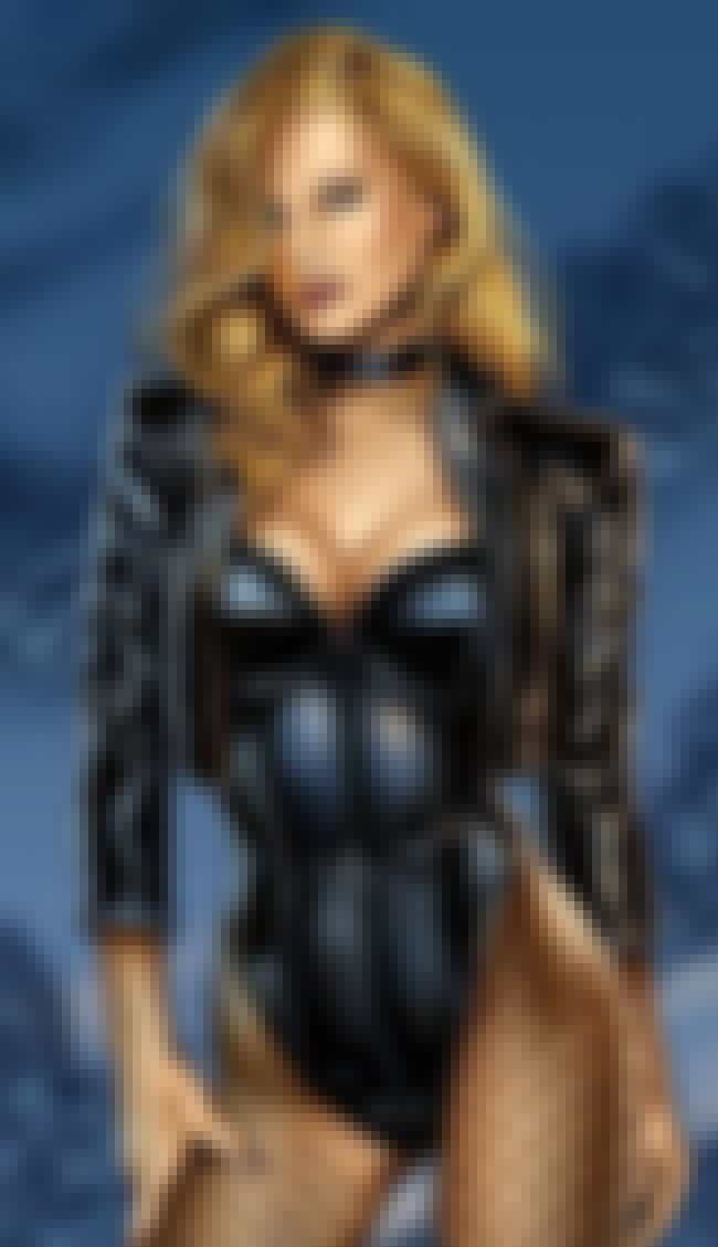 Black Canary in Black Corset w... is listed (or ranked) 1 on the list Sexy Black Canary Pictures