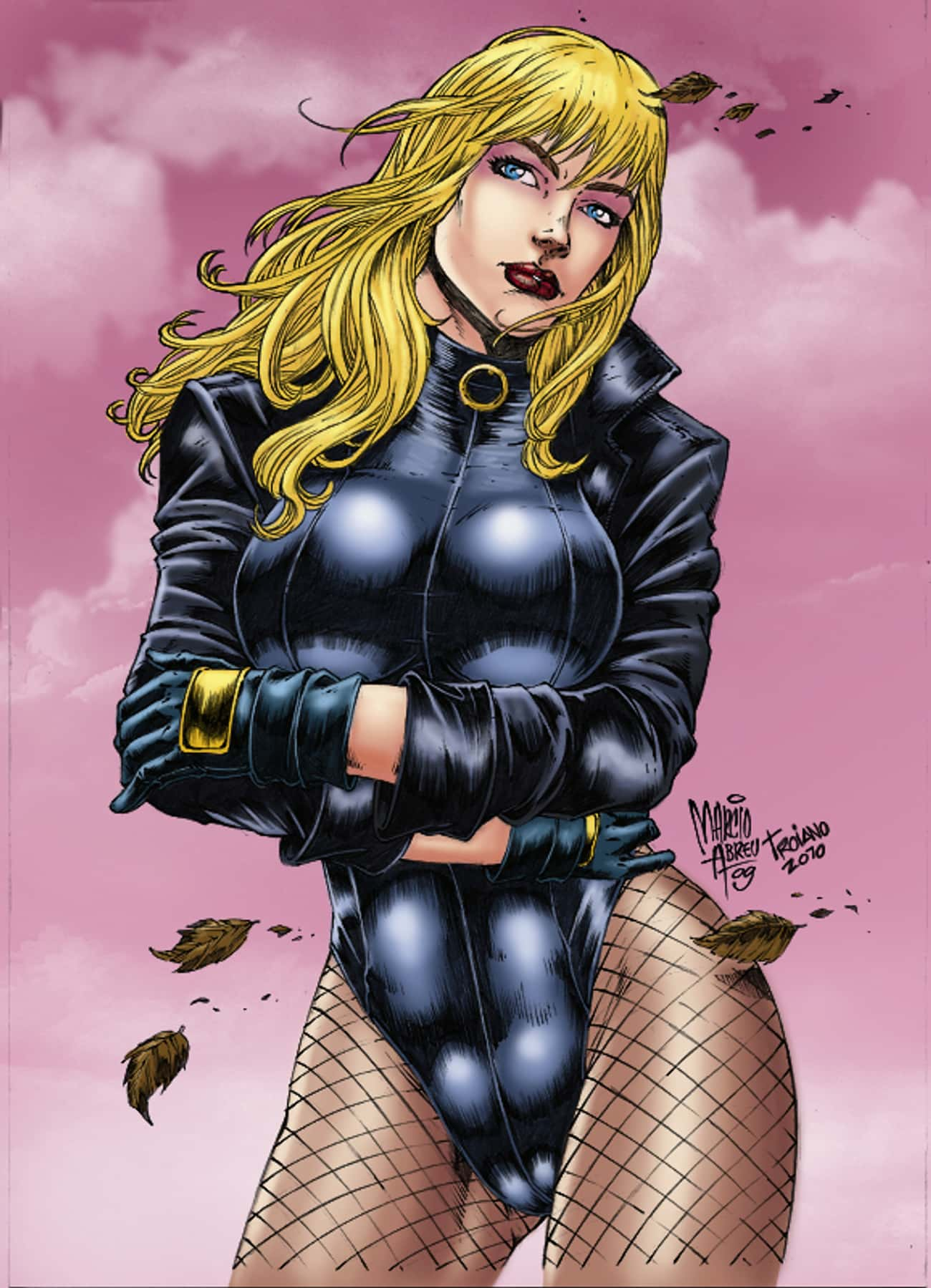 Black Canary in Shiny High Cut is listed (or ranked) 3 on the list The Most Attractive Black Canary Pictures