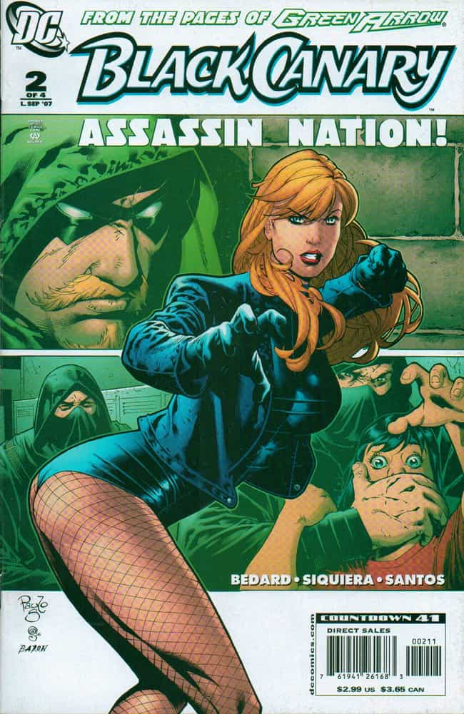 Black Canary in Original... is listed (or ranked) 7 on the list The Most Attractive Black Canary Pictures
