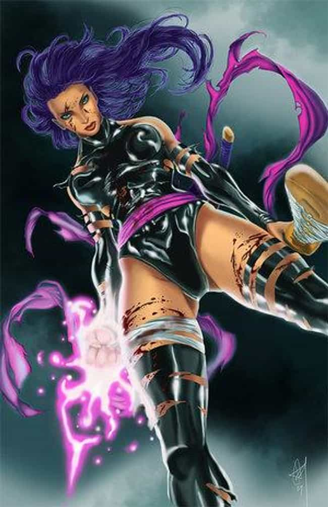 Psylocke in High Cut Lea... is listed (or ranked) 4 on the list Sexy Psylocke Pictures
