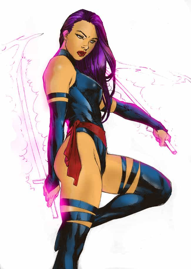 Psylocke in Legend Leather Out... is listed (or ranked) 1 on the list Sexy Psylocke Pictures