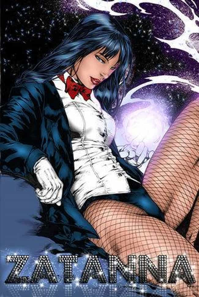 Zatanna in Blouse Insert with ... is listed (or ranked) 4 on the list Sexy Zatanna Pictures