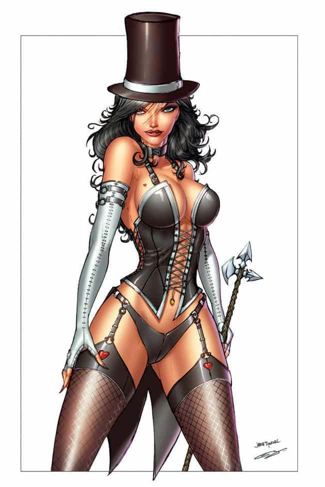 Zatanna in Chateau Vilette wit... is listed (or ranked) 2 on the list Sexy Zatanna Pictures