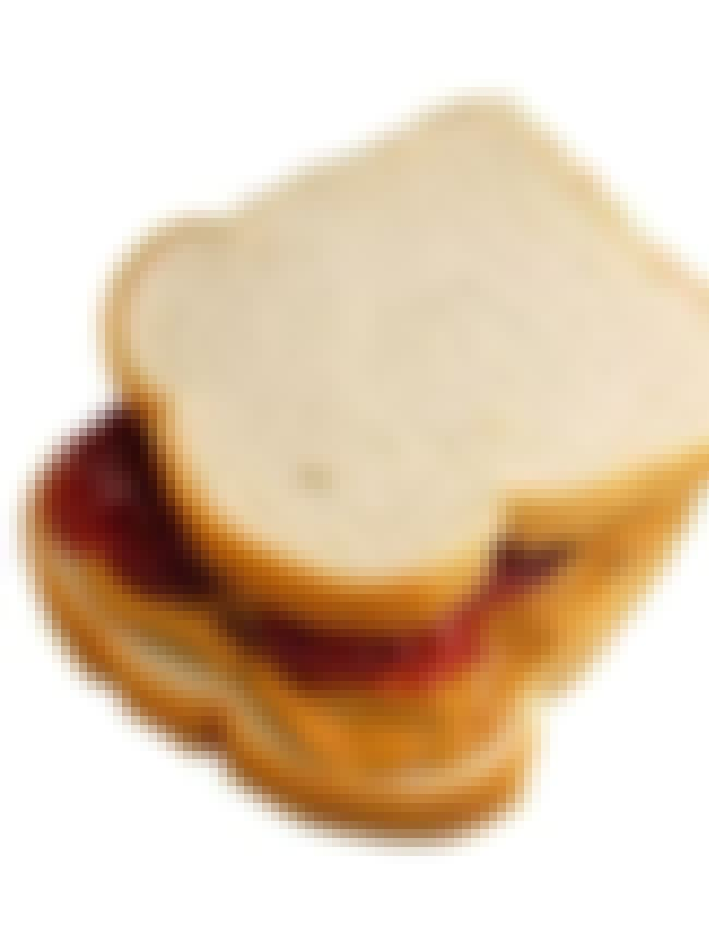 Peanut butter and jelly sandwi... is listed (or ranked) 3 on the list Kid Stuff We Still Love as Adults