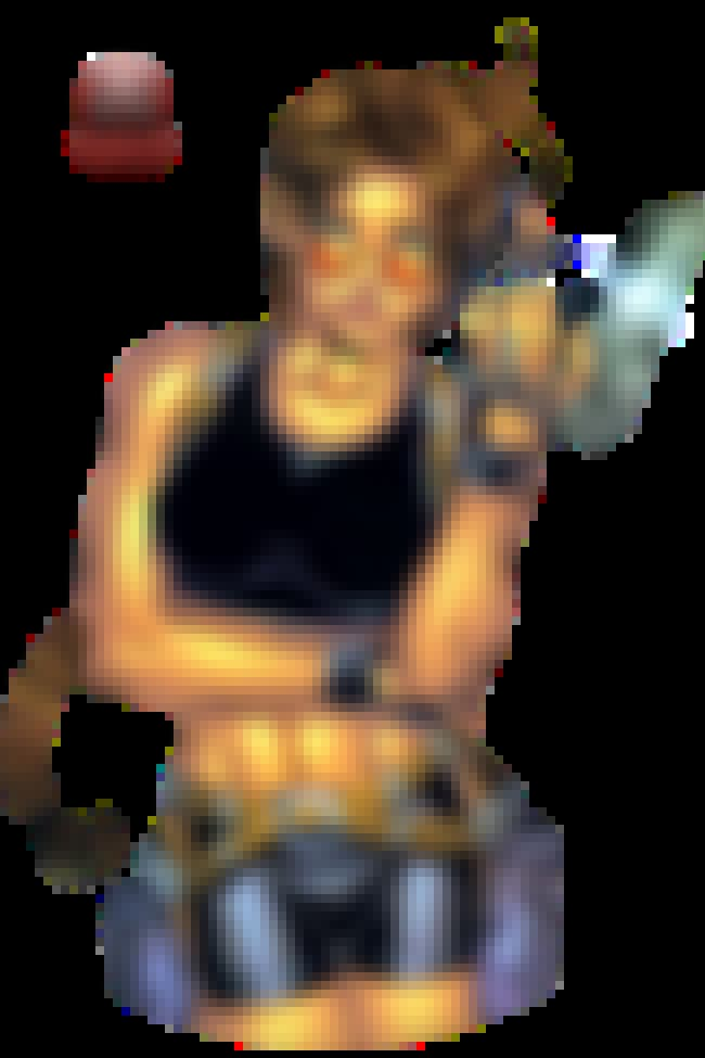 Lara Croft in Sports Bra with ... is listed (or ranked) 4 on the list Sexy Lara Croft Pictures
