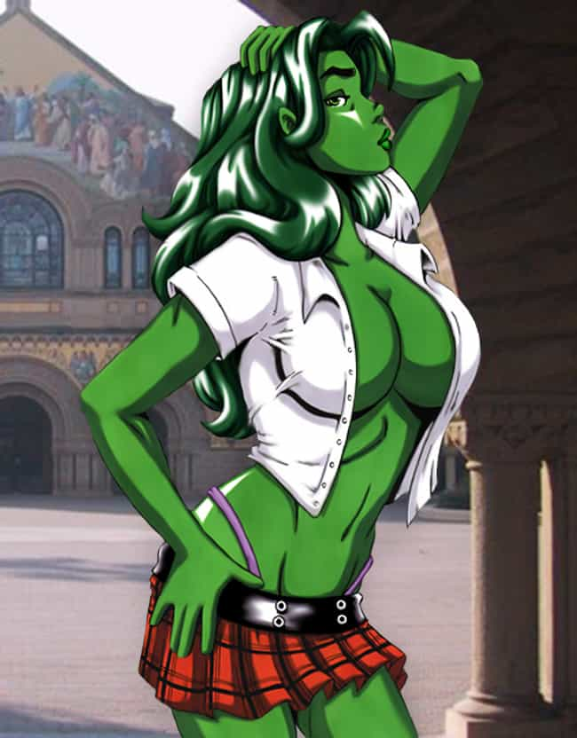 She-Hulk in Plaid is listed (or ranked) 2 on the list The Most Stunning She-Hulk Pictures