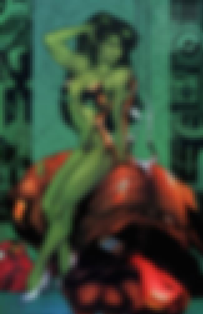 She-Hulk in Padded String Bott... is listed (or ranked) 2 on the list Sexy She-Hulk Pictures