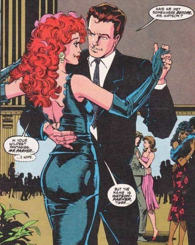 Mary Jane Watson In A Fo... is listed (or ranked) 4 on the list Stunning Mary Jane Watson Pictures
