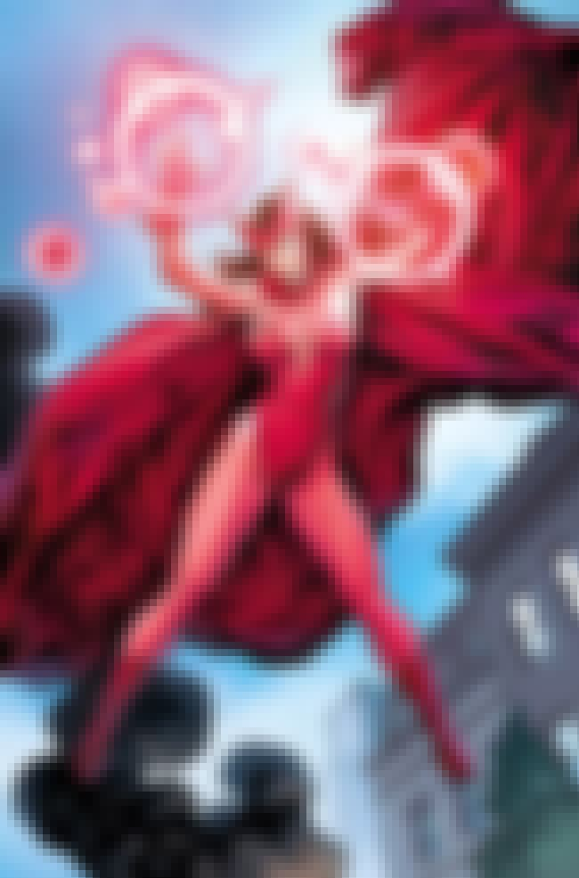 Scarlet Witch in Red Bathing S... is listed (or ranked) 4 on the list Sexy Scarlet Witch Pictures